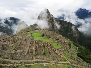 Cité Inca du Macchu Picchu