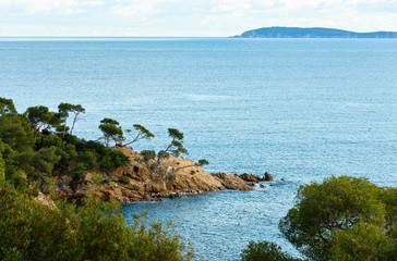 Mediterranean coast near Le Lavandou