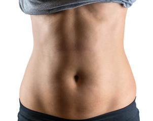 female belly fat
