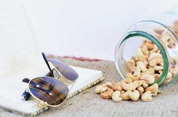 Cashew Nut in the Relex Time