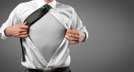 Men open Shirt