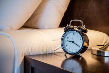Clock in bed room