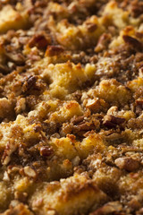 Sweet Homemade Bread Pudding