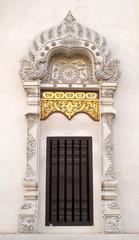 Window arch of Wat Jedi Luang
