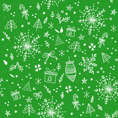 New Year Seamless Pattern 19
