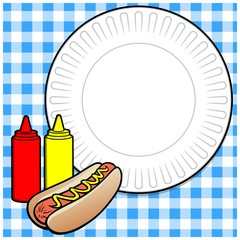 Hot Dog Cookout Menu