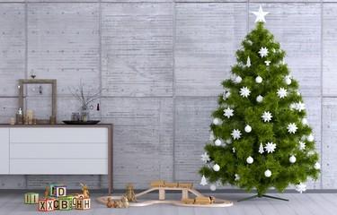 Bescherung zu Weihnachten