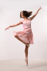 professional jumping ballerina