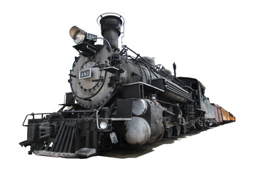 USA - Old steam train (Durango / Colorado)