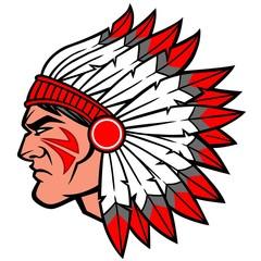 Indian Warrior Chief