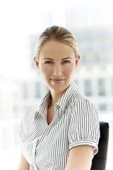 Corporate businesswoman