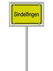 Sindelfingen - Ortsschild