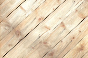 Light wooden boards background