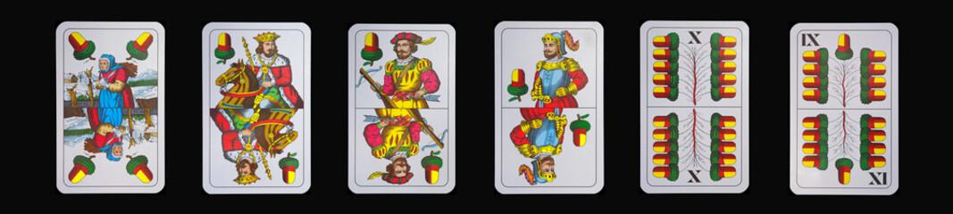 Spielkarten - Schnapskarten  EICHEL