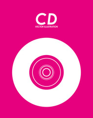 cd icon design