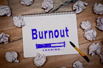burnout ladebalken