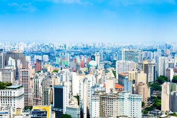 The Sao Paulo city in South America, Brazil