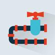 pipeline  icon design - 74914393
