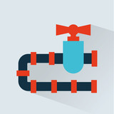 pipeline  icon design