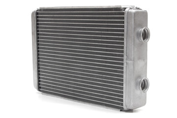 car radiator heater isolated on white background. car parts