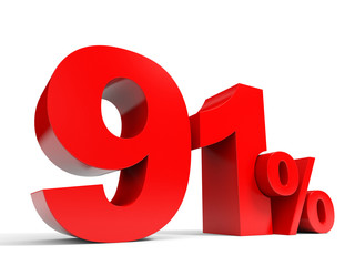 Red ninety one percent off. Discount 91%.
