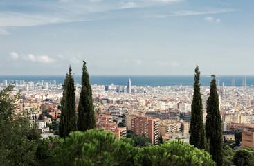 Beautiful iew of Barcelona