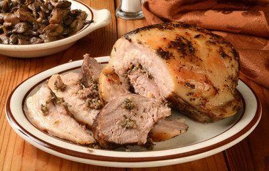 Porchetta pork roast