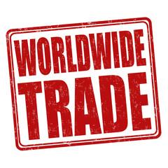 Worldwide trade stamp