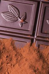 cioccolato fondente con cacao