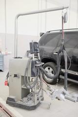 Welding machine for spot welding. Spotter