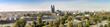Leinwanddruck Bild - Panorama von Magdeburg 07127