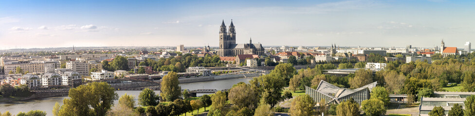 Panorama von Magdeburg 07127