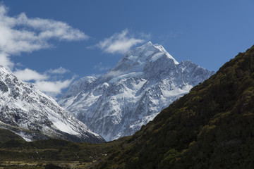 Mount Cook. New Zealand
