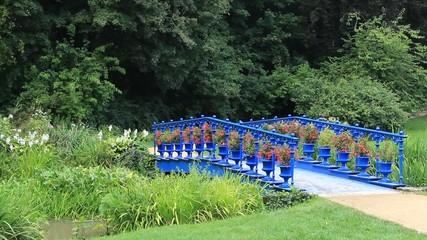 Bridge in the Muskau park - famous English garden in Europe