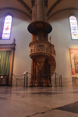 Pulpit in Santa Maria Novella, Florence