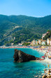 View of the Cinque Terre park, Italy