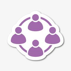 Logo réseau.