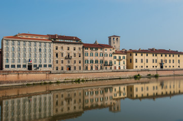 View of Pisa, Italy