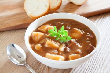 Beef and Potato Soup