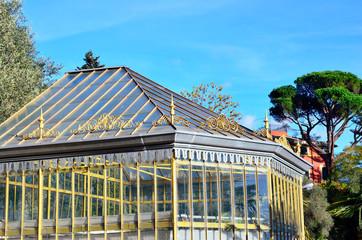The Botanical Park of Villa Rocca in Chiavari, Italy