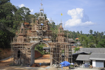 temple in north thailand