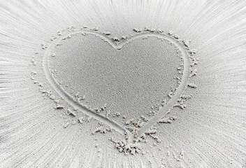 heart motion blur