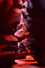 Narrow Walls of Antelope Canyon