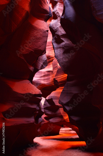 Narrow Walls of Antelope Canyon - 74926316