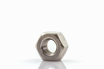 Metal nuts .