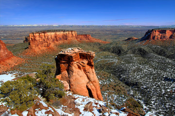 Colorado National Monument Formations