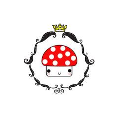 mushroom king color