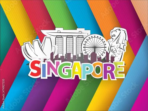 Landmarks Vector Free Singapore City Landmark Vector