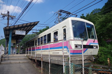 叡山電車と駅