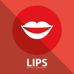 lips button